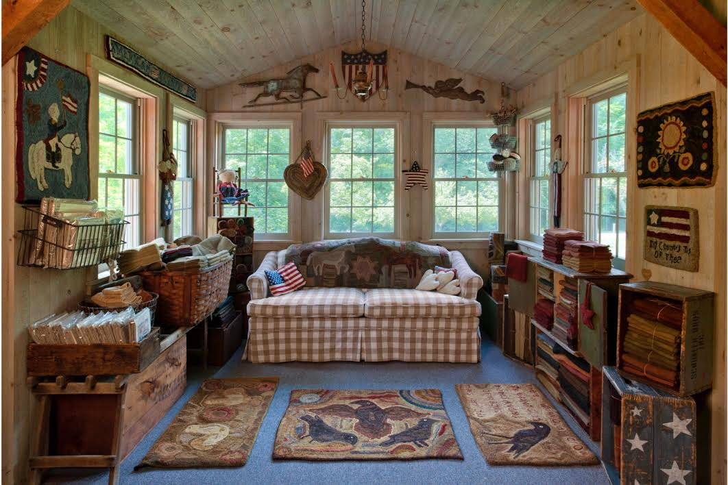 American country rugs for American country style interior design